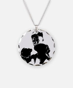 athlete boxing Necklace