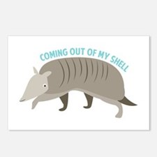 Armadillo_Coming_Out_Of_My_Shell Postcards (Packag