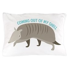 Armadillo_Coming_Out_Of_My_Shell Pillow Case
