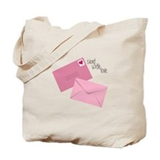 Sent With Love Tote Bag
