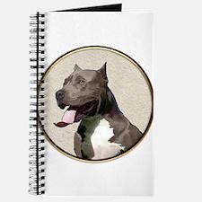 Black White Pit Bull Journal