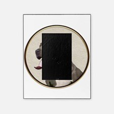 Black White Pit Bull Picture Frame