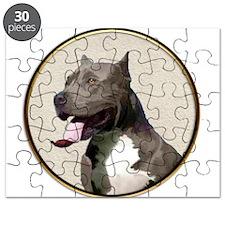 Black White Pit Bull Puzzle