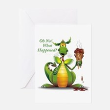 Dragon Card Greeting Cards