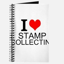 I Love Stamp Collecting Journal