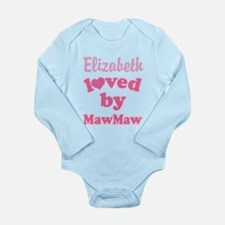 Personalized Grandchild Gift from MawMaw Body Suit