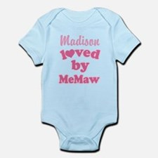 Personalized Grandchild gift from MeMaw Body Suit