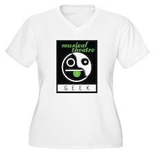 Musical Theatre GEEK Plus Size T-Shirt
