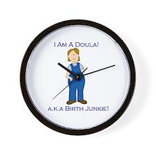 Birth Junkie Wall Clock