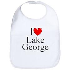 """""""I Love Lake George"""" Bib"""
