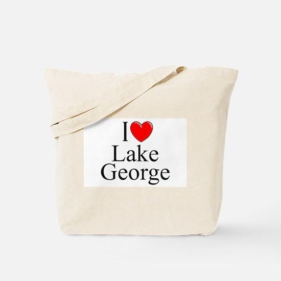 """""""I Love Lake George"""" Tote Bag"""