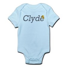 Clyde of Bonnie and Clyde Infant Onesie