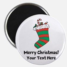 Christmas stocking Magnets