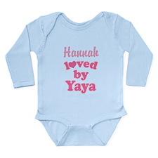 Personalized Grandchild Gift from Yaya Body Suit