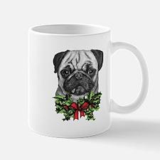 Pugalicious Christmas Mugs