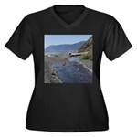 Shelter Cove Beach Plus Size T-Shirt