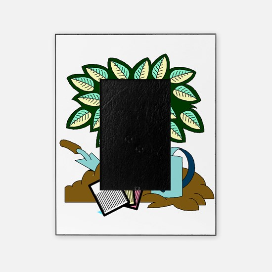 Tree Garden Seeds an Watering Can Picture Frame
