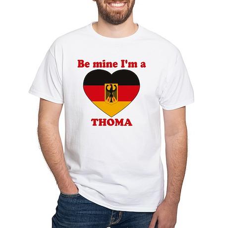 Thoma, Valentine's Day White T-Shirt