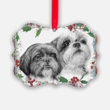 Maya and Charolette Ornament