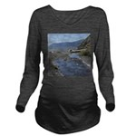 Shelter Cove Beach Long Sleeve Maternity T-Shirt