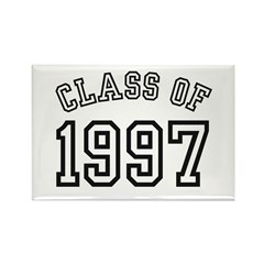 Class of 1997 Rectangle Magnet (100 pack)