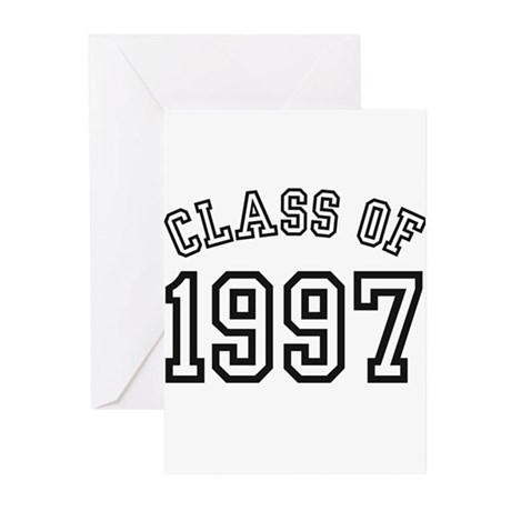Class of 1997 Greeting Cards (Pk of 10)