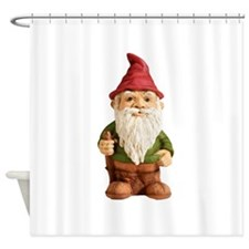 Garden Gnome 1 copy Shower Curtain