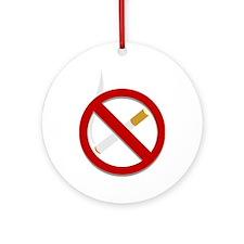 Don't Smoke Ornament (Round)