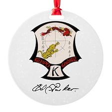 Ed Parker Sr. Kenpo Karate Ornament