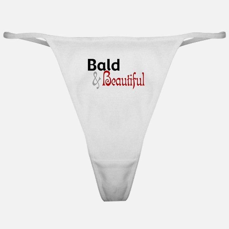 Bald & Beautiful Classic Thong