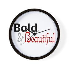 Bald & Beautiful Wall Clock