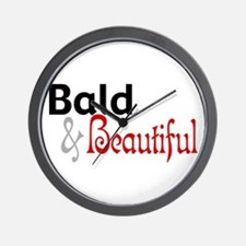 Bald & Beautiful Wall Clock