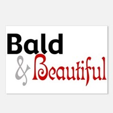 Bald & Beautiful Postcards (Package of 8)