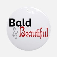 Bald & Beautiful Ornament (Round)