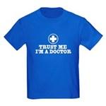 Trust Me I'm a Doctor Kids Dark T-Shirt
