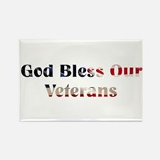 God Bless Our Veterans Magnets