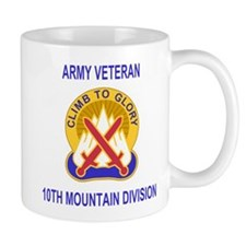10th Mountain Division <BR>Veteran Coffee Cup
