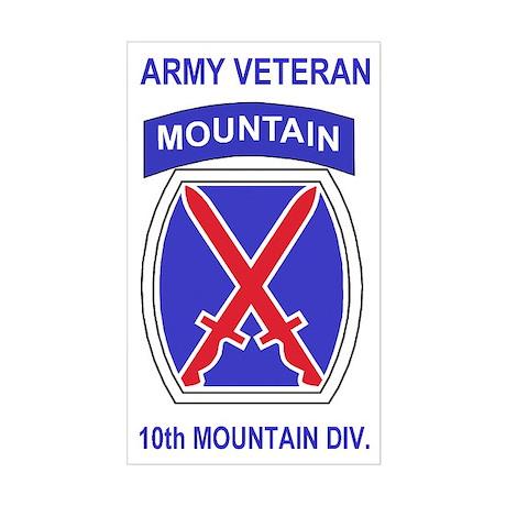 10th Mountain Division <BR>Veteran Sticker
