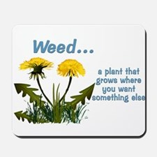 Dandelions Weed Mousepad