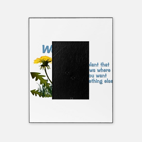 Dandelions Weed Picture Frame