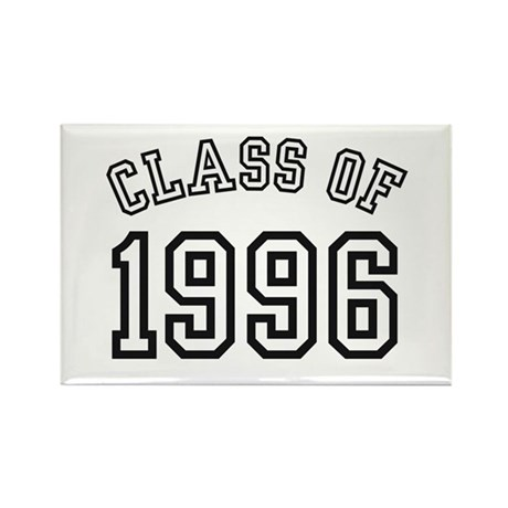 Class of 1996 Rectangle Magnet