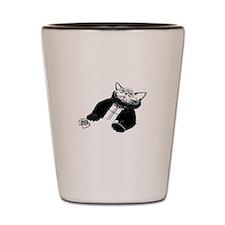 Cat dos x Shot Glass