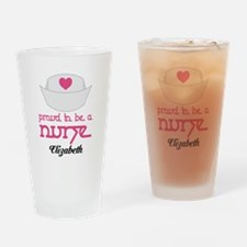 Nurse Personalized Occupation Drinking Glass