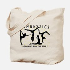 Gymnastics Reaching For The Stars Tote Bag