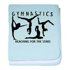 Gymnastics Reaching For The Stars baby blanket