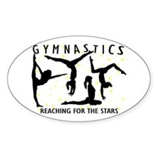 Gymnastics Reaching For The Stars Decal