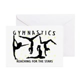 Gymnastics Greeting Cards (10 Pack)