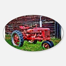 Red Tractor HDR Style Decal