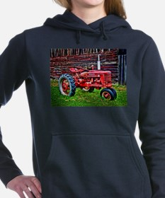 Red Tractor HDR Style Women's Hooded Sweatshirt
