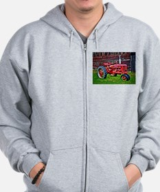Red Tractor HDR Style Zip Hoodie